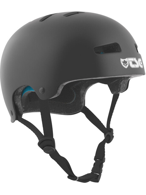 TSG Evolution Solid Color Helmet Youth satin black